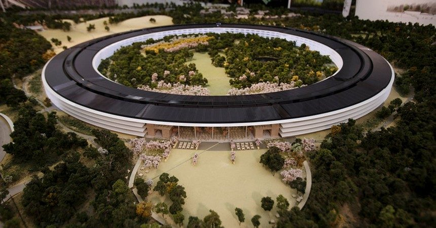 You'll be able to visit the New Apple's $5 billion campus in April